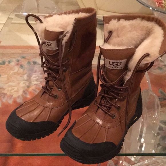 55fe09757d3 ❤️New Ugg Adirondack chestnuts boots size 6 womens